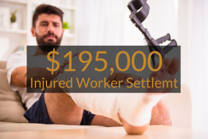 Injured Worker Settlement for Injured Ankle and Foot