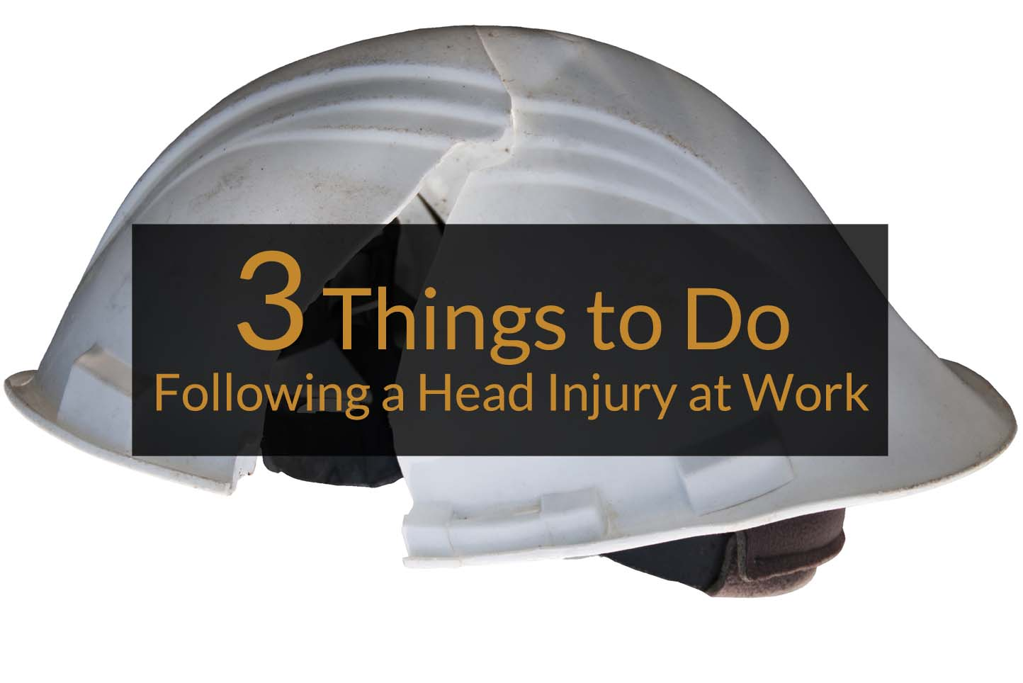 3 things to do following a head injury at work hard hat