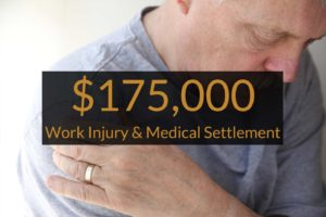 torn rotator cuff at work medical care settlement