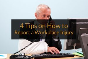 how to report a workplace injury