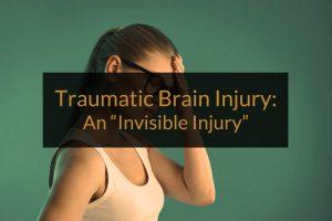 Traumatic Brain Injury office woman