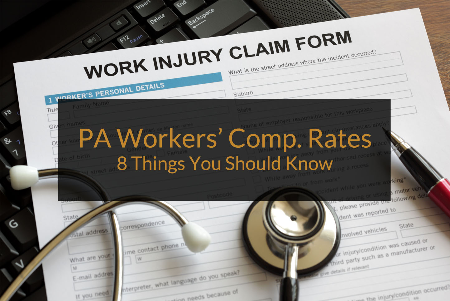 PA Workers Compensation Rates