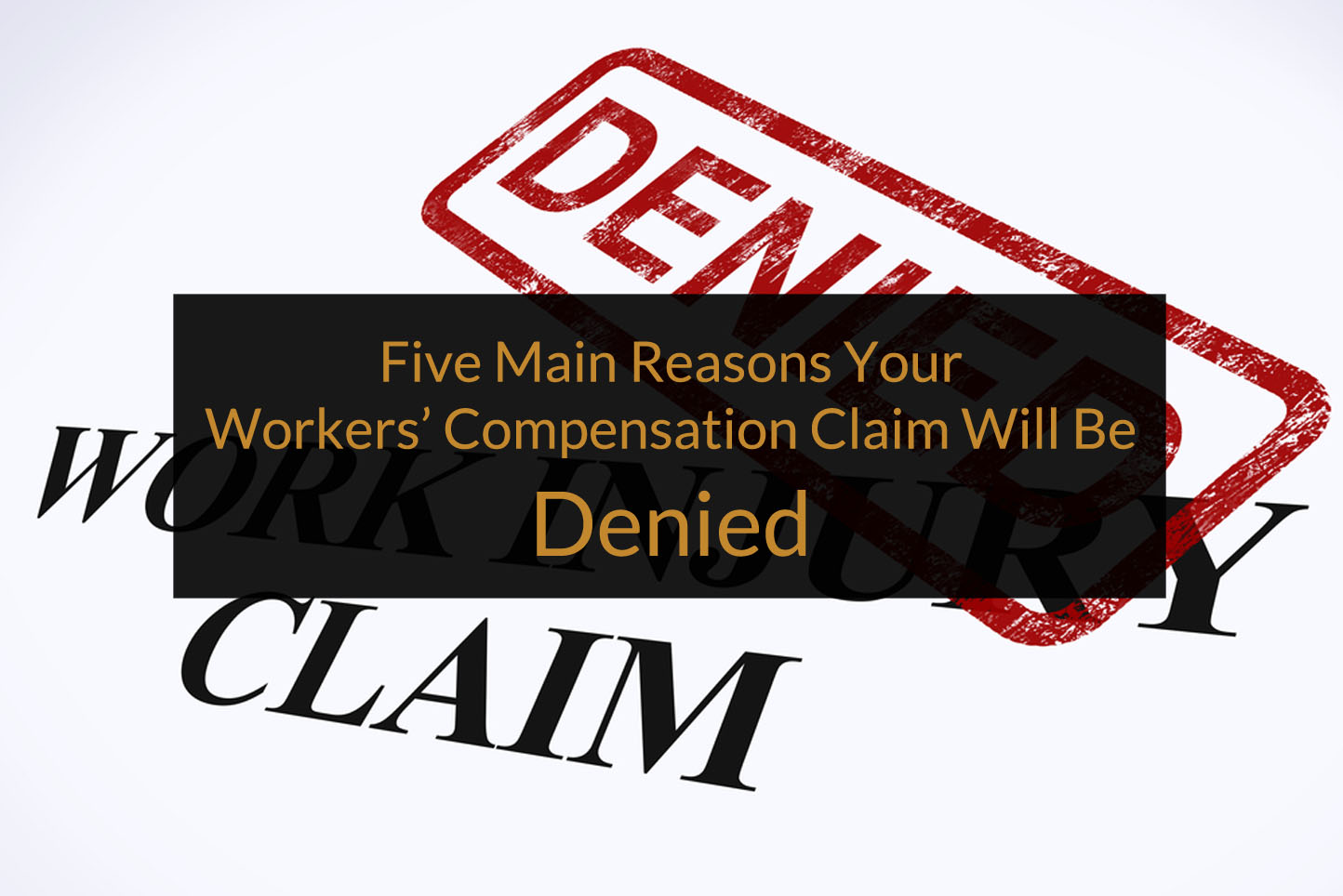 workers comp claim denied