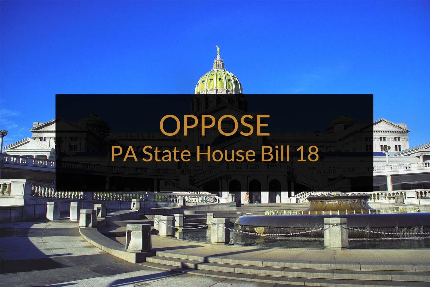 PA House Bill 18