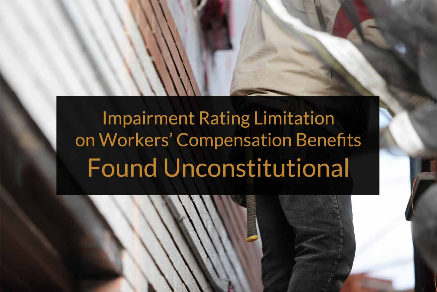 Impairment rating limitation workers' comp benefits
